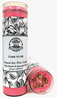Art of the Root Come to Me 7 Day Soy Spell Candle (Fixed) for Love, Romance, Attraction, Dating & Relationships (Wiccan, Pagan, Hoodoo, Magick)