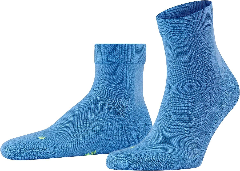 FALKE Unisex-Adult Cool Kick Short Socks Breathable Quick Dry Black White More Colors 1 Pair