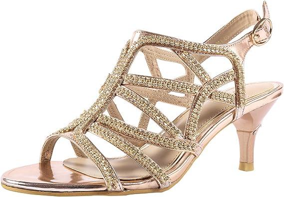 Rhinestone Dress Sandals
