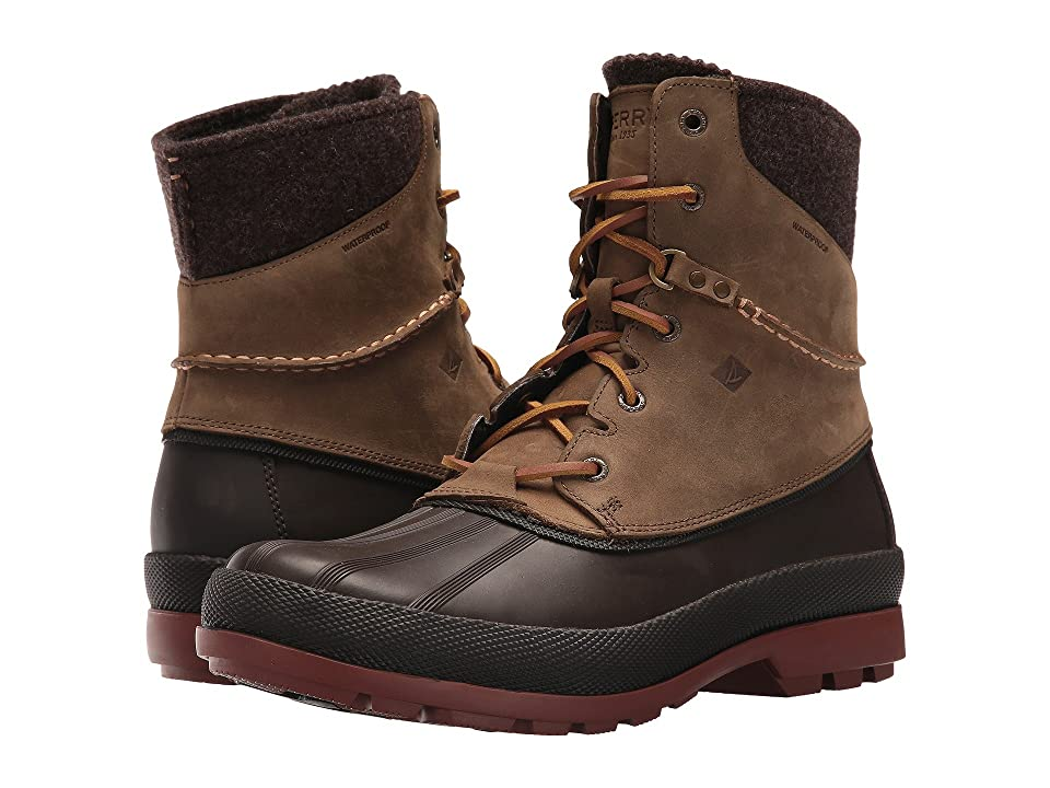 Sperry Cold Bay Waterproof Ice+ (Brown) Men