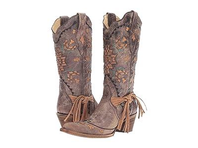 Corral Boots A2992 (Cognac/Tobacco) Women