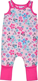 Disney Minnie Mouse Romper, Grow with Me Coverall for Girls, Baby to Toddler