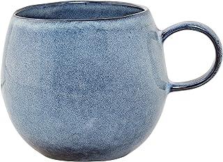 Bloomingville Tasses Sandrine, bleu, cramique