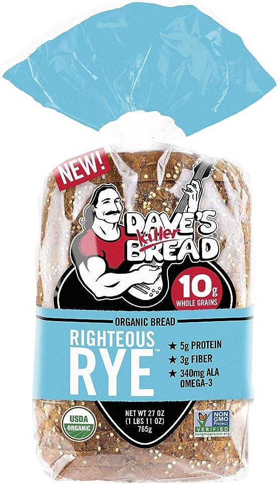 Dave's Killer Bread Righteous Rye Bread, 21 OZ