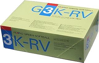 "Nagasekko 肯高 绿色软球12英寸 聚氨酯笔芯 6个装 G3KRV-UR 绿色 12"""