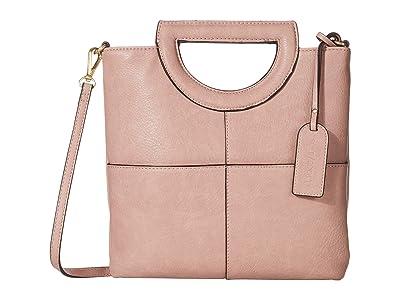 SOLE / SOCIETY Duff Clutch (Pink Salt) Handbags