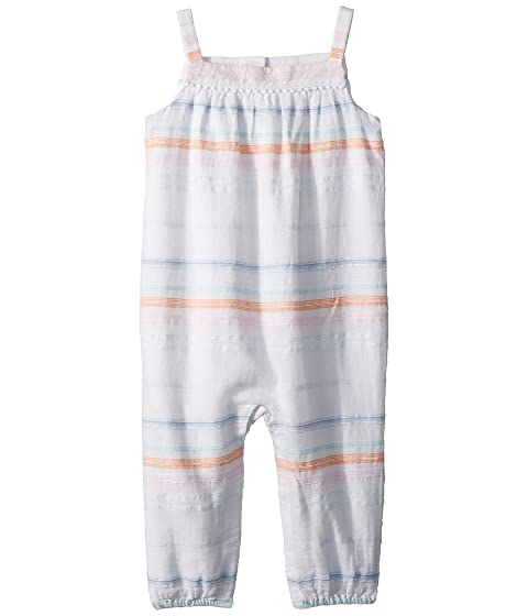 819b23b7bab Ralph Lauren Baby Striped Cotton Dobby Jumpsuit (Infant) at Zappos.com