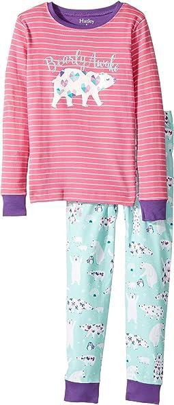 Arctic Party Bearly Awake PJ Set (Toddler/Little Kids/Big Kids)