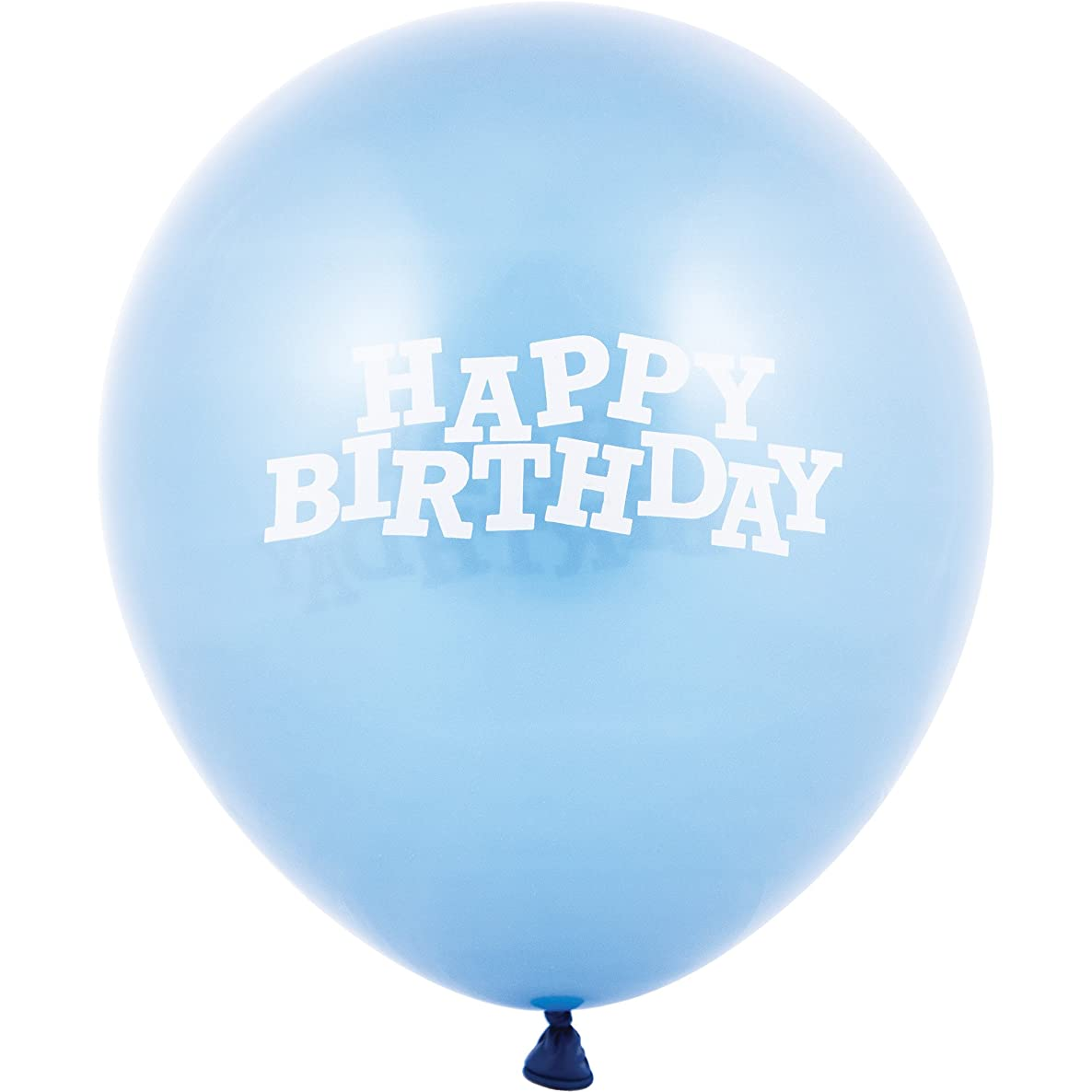 Creative Converting 15 Count Latex Balloons Printed with Happy Birthday, 12