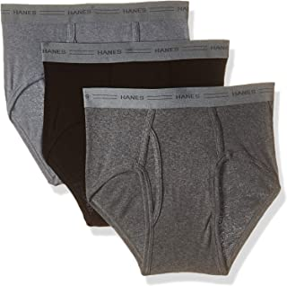 Hanes Men's 7800vt 3-pack Mid-rise Exposed Waistband Briefs
