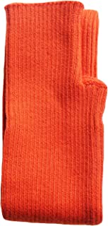 Share Maison Women's Arm Warmers with Thumb Hole Winter Fingerless Stretchy Cashmere Wool Long Gloves Sleeves