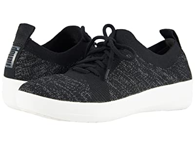 FitFlop F-Sporty Uberknit Sneakers (Black) Women