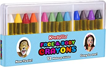 Kangaroo Face Paint and Body Crayons - 12 Colors