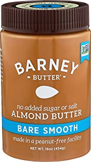 Barney Butter Almond Butter, Bare Smooth, 16 Ounce (Pack of 3)