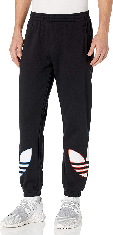 adidas Originals Men's Deluxe Tricolor Max 70% OFF Sweatpants