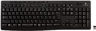 LOGICOOL Wireless Keyboard K270 Unifying adopt corresponding receiver -海外卖家直邮