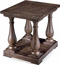 Magnussen Densbury Natural Pine Finish Wood Rectangular End Table