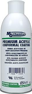 MG Chemicals Premium Acrylic Conformal Coating, Clear Finish, 12 oz, Aerosol Can