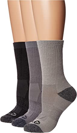 Cushioned Crew Hiker 3-Pack Socks