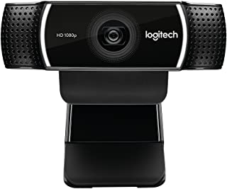 Logitech C922 Pro Stream Webcam 1080P Camera for HD Video Streaming & Recording 960-001087(Renewed)
