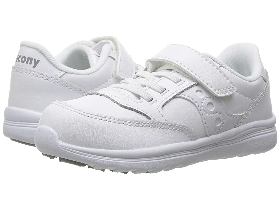 Saucony Kids Originals Jazz Lite (Toddler/Little Kid) (White) Kids Shoes