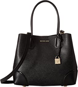 92ea13fd3f70 MICHAEL Michael Kors. Mercer Medium Accordion Convertible Tote. $328.00.  Black
