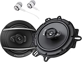 "Pioneer TS-A1670F 6.5"" 320 Watts Max 3-Way Car Speakers Pair Carbon and Mica.."