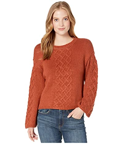 BB Dakota Retro Active Sweater (Rust) Women