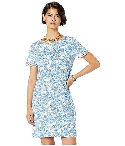 Lilly Pulitzer Lissie Dress (Coastal Blue Fancy Feet) Women