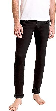 Duc Denim - Jeans Para Hombre - Louis the Liberal - True Black - Slim Fit- Jeans Azules - Alta Calidad de Mezclilla - Corte Ajustado - Fit Perfecto - Estilo Moderno - Denim - Para Caballero - Skinny - Se Estiran - Mezclilla Elastica