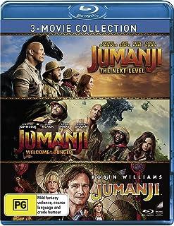 3 Movie Franchise Pack (Jumanji (1995) / Jumanji: Welcome To The Jungle/Jumanji: Welcome To The Jungle ) (Blu-ray)