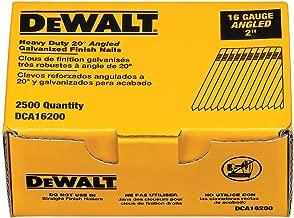 dewalt 16 gauge angled nails