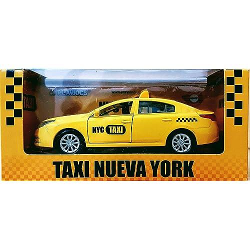 COCHE DE METAL TAXI DE NUEVA YORK