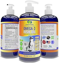 Snappies Petcare Omega 3 Fish Oil for Dogs and Cats – Wild & Pure Icelandic Liquid Fish Oil Supplement - No...