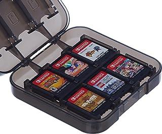 Amazon基本的 Nintendo Switch用游戏卡收纳盒 黑色