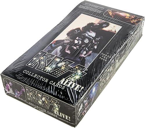 contador genuino 643DPC Kiss Alive  Tarjetas de coleccionistas de 2001 2001 2001 NECA 36 unidades de caja de obby sellada de fábrica  80% de descuento