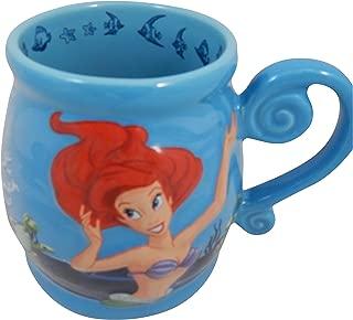 Disney Parks Ariels Undersea Adventure Large Embossed Ceramic Mug