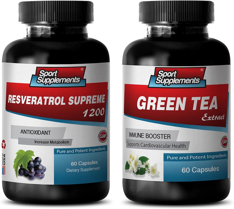 Fat Loss Pills for Men - Combo 5 ☆ very popular Tea resve Green Max 41% OFF RESVERATROL