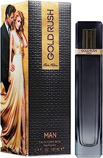 Paris Hilton Rush Man for Men Eau De Toilette Spray, Gold