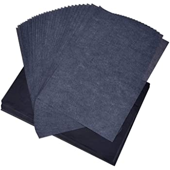 Amazon   MYHO カーボン紙 片面 50枚入り カーボン用紙 a4 複写紙 工芸 ...