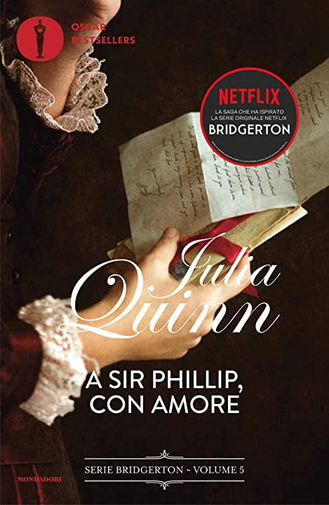 A sir phillip, con amore. serie bridgerton (vol. 5) copertina flessibile italiano 978-8804740308