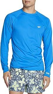 Men's UV Swim Shirt Easy Long Sleeve Regular Fit