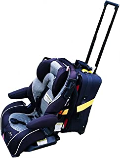 Car Seat Travel Belt | Car Seat Travel Strap to Convert Your Car Seat and Carry-on Luggage into an Airport Car Seat Stroll...