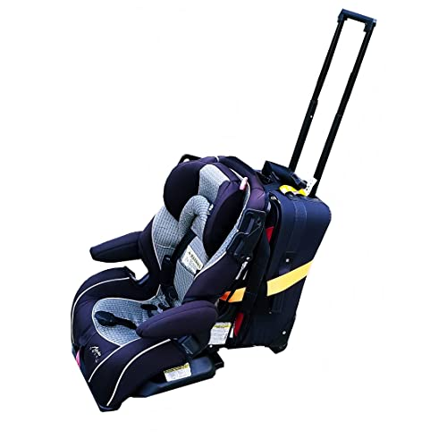 Birdee Car Seat Travel Strap Car Seat Travel Belt to Convert Your Car Seat and Carry-on Luggage Into an Airport Car Seat Carrier