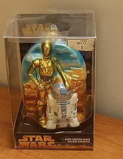 Kurt Adler Glass Ornament Star Wars