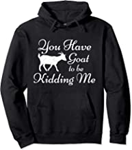 You Have Goat To Be Kidding Me Funny Goat Pullover Hoodie