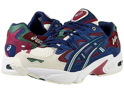 ASICS Tiger Gel-Kayano 5 OG (Birch/Blue Expanse) Athletic Shoes