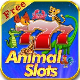 Vegas Farm Animal Slots Free  - Heart Of Jungle Tiger Lion Buffalo Panda Dolphin Fish 777 Casino Games HD