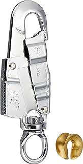 サンコー 安全帯用小型フック 回転環付 185mm NO.14L