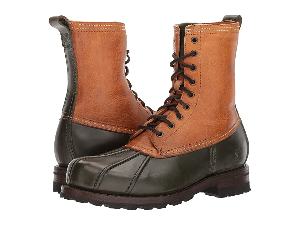 Frye Warren Duckboot (Forest Multi WP Smooth Pull Up/Shearling Lined) Men